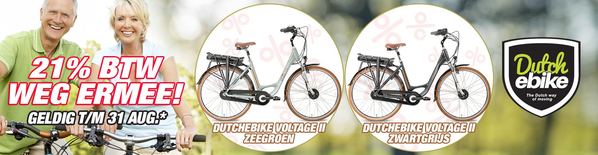 DutchEbike BTW korting