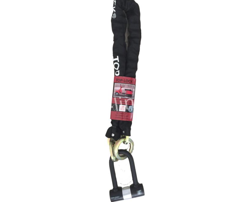 Kettingslot Top Lock ART4 120cm loop + verlengde U-beugel