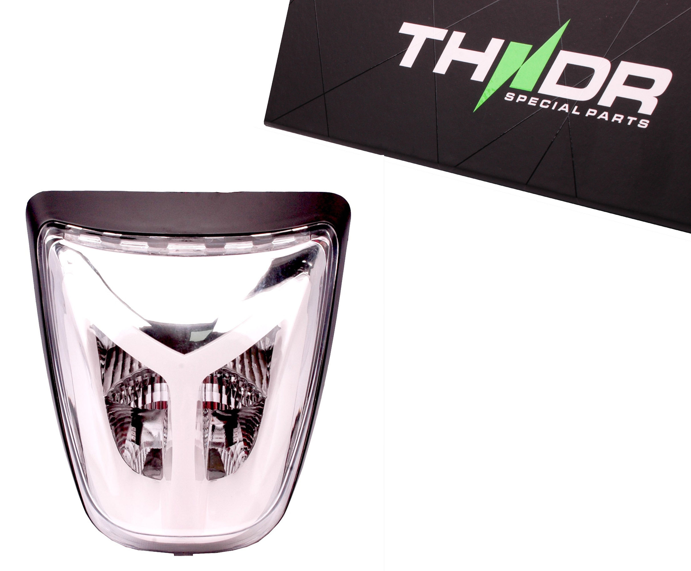 Achterlicht LED Tube THNDR Wit - Vespa Sprint