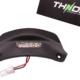 Kentekenplaatverlichting LED THNDR Mat Zwart - Vespa Sprint