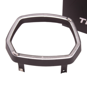 Koplamprand LED THNDR Glans Zwart - Vespa Sprint