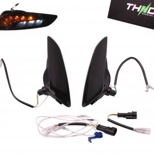 Richtingaanwijzerset Voor LED SQ + Dagrijverlichting THNDR Smoke - Vespa Sprint